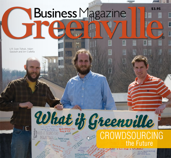 Cover of Greenville Business Magazine