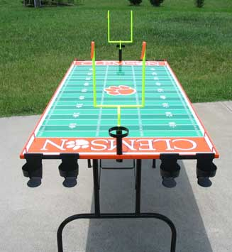 Clemson Beer Pong Table